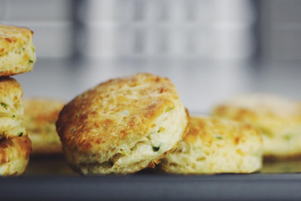 Jalapeño Cheddar Buttermilk Biscuit