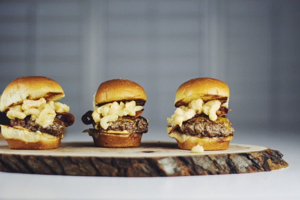Mac and Cheese sliders
