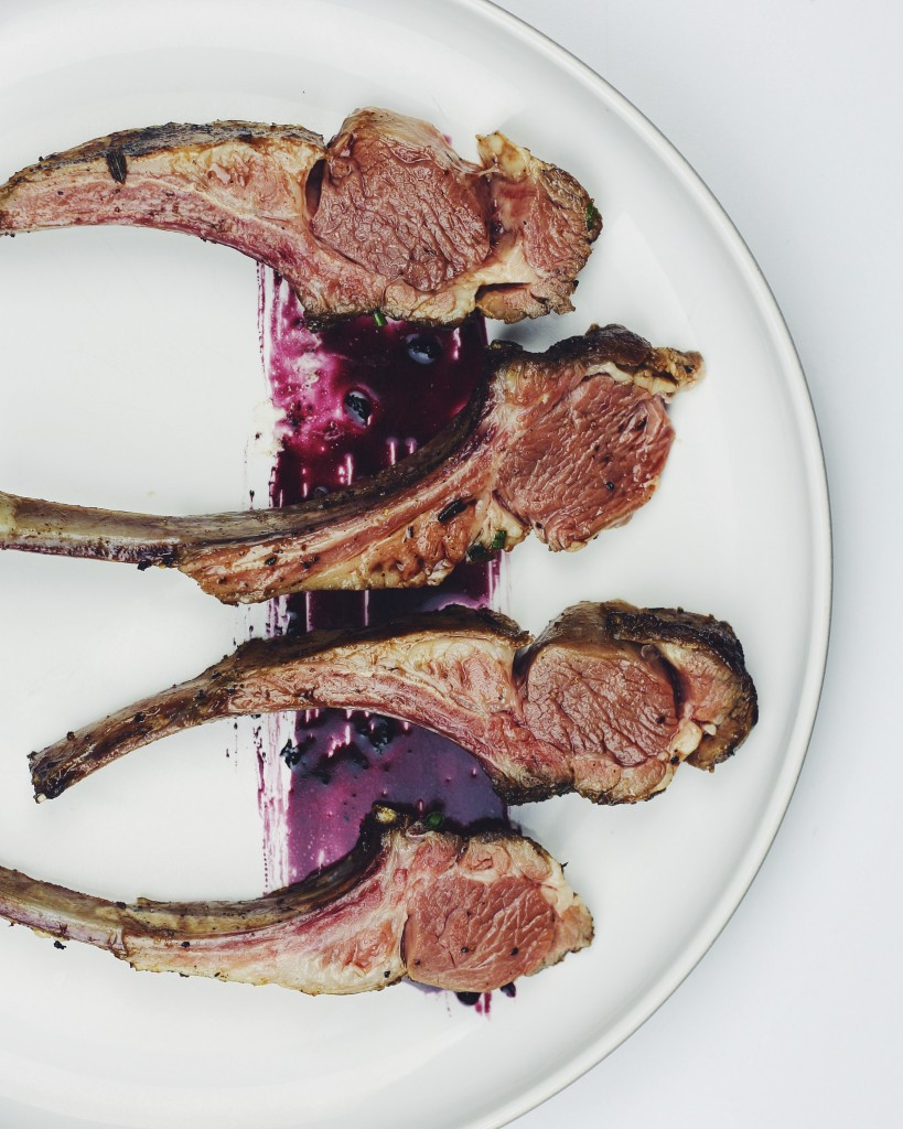 Sous Vide Rack of Lamb