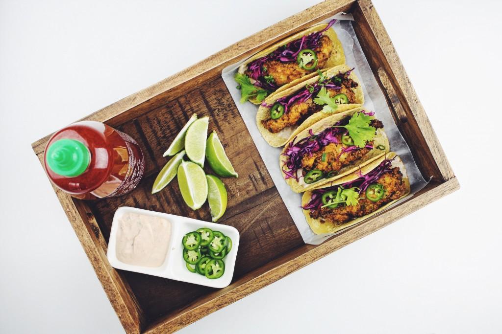 Sriracha tacos