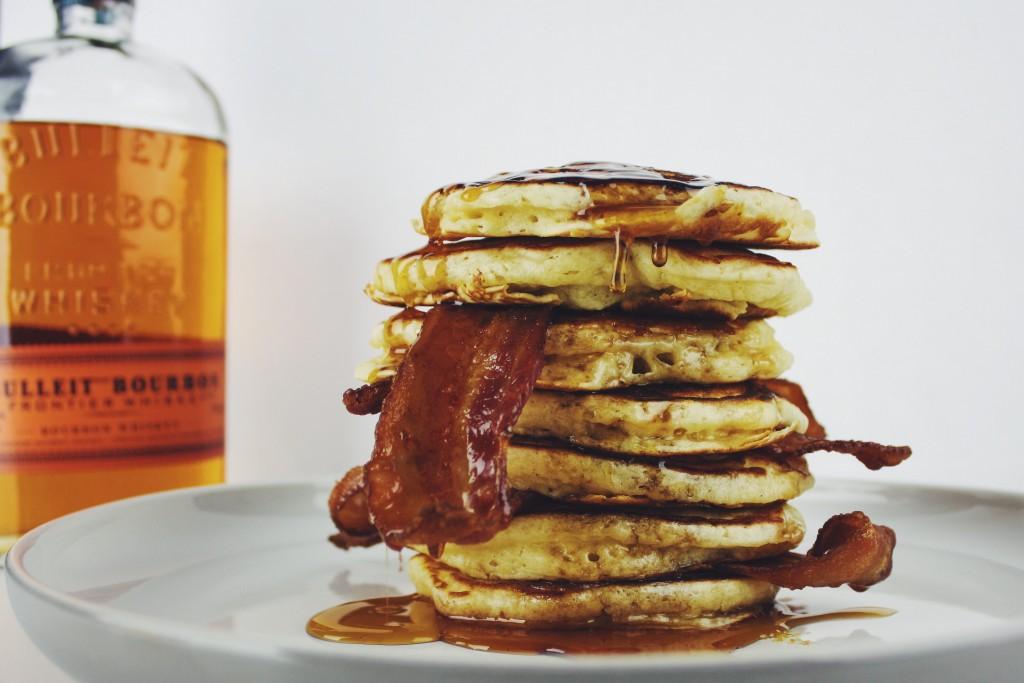 bacon bourbon pancakes