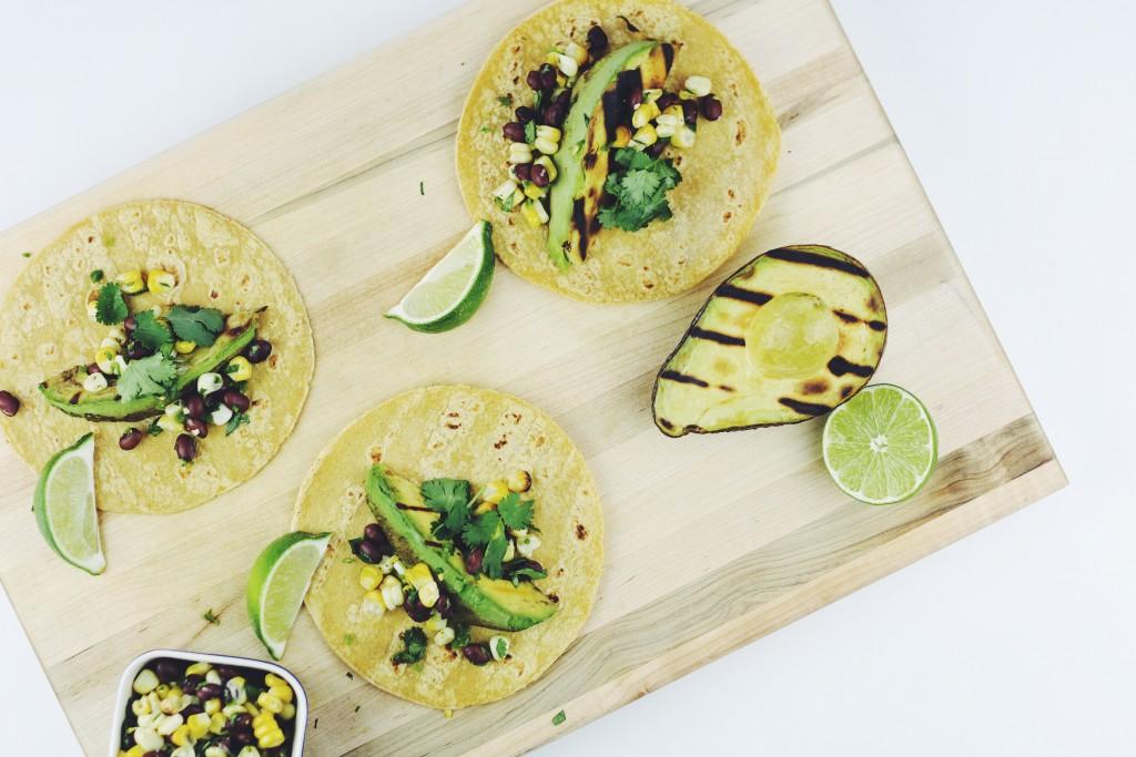 Grilled Avocado Tacos